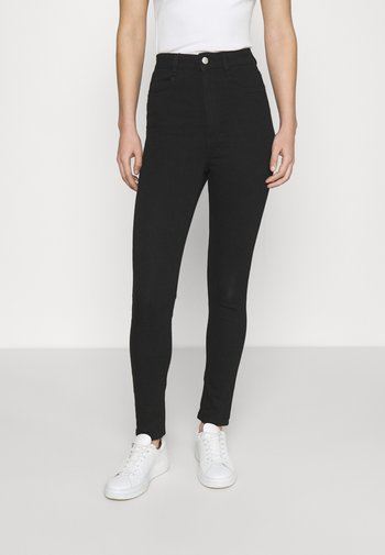 ULTRA HIGH SUPER STRETCH  - Jeans Skinny Fit - black