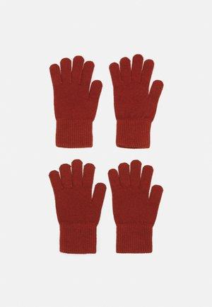 2 PACK UNISEX - Handschoenen - rust