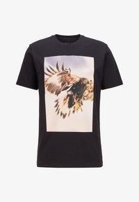 BOSS - TOMIO - T-Shirt print - black - 3