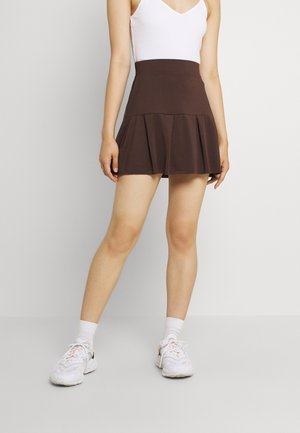 TENNIS SKIRT - Mini skirt - brown