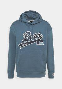 BOSS - BOSS X RUSSELL ATHLETIC SAFA - Kapuzenpullover - bright blue - 4