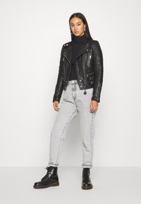 Diesel - L-IGE-NEW - Leather jacket - black - 1