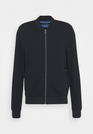 JACKET - Mikina na zip - navy