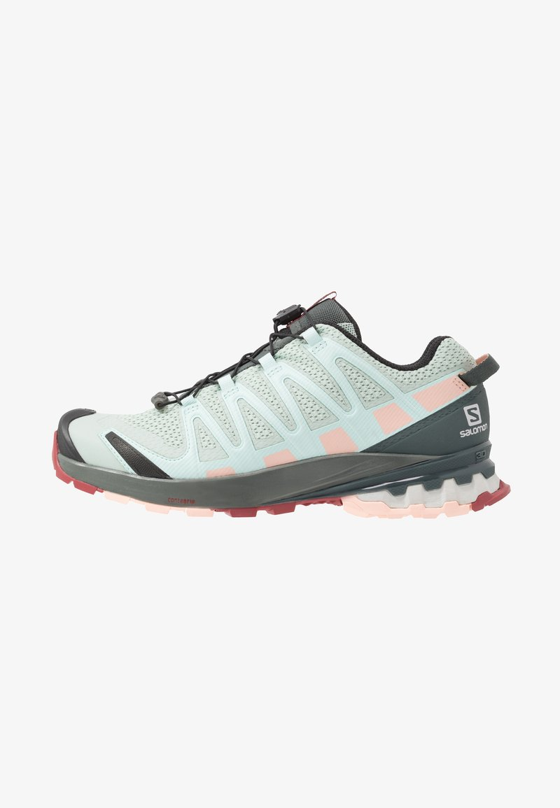 Salomon - XA PRO 3D - Scarpe da trail running - aqua gray/urban chic/tropical peach