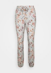 Hunkemöller - PANT MEADOW BLOOM - Pyjamasbukse - warm grey - 0