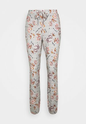 PANT MEADOW BLOOM - Nattøj bukser - warm grey