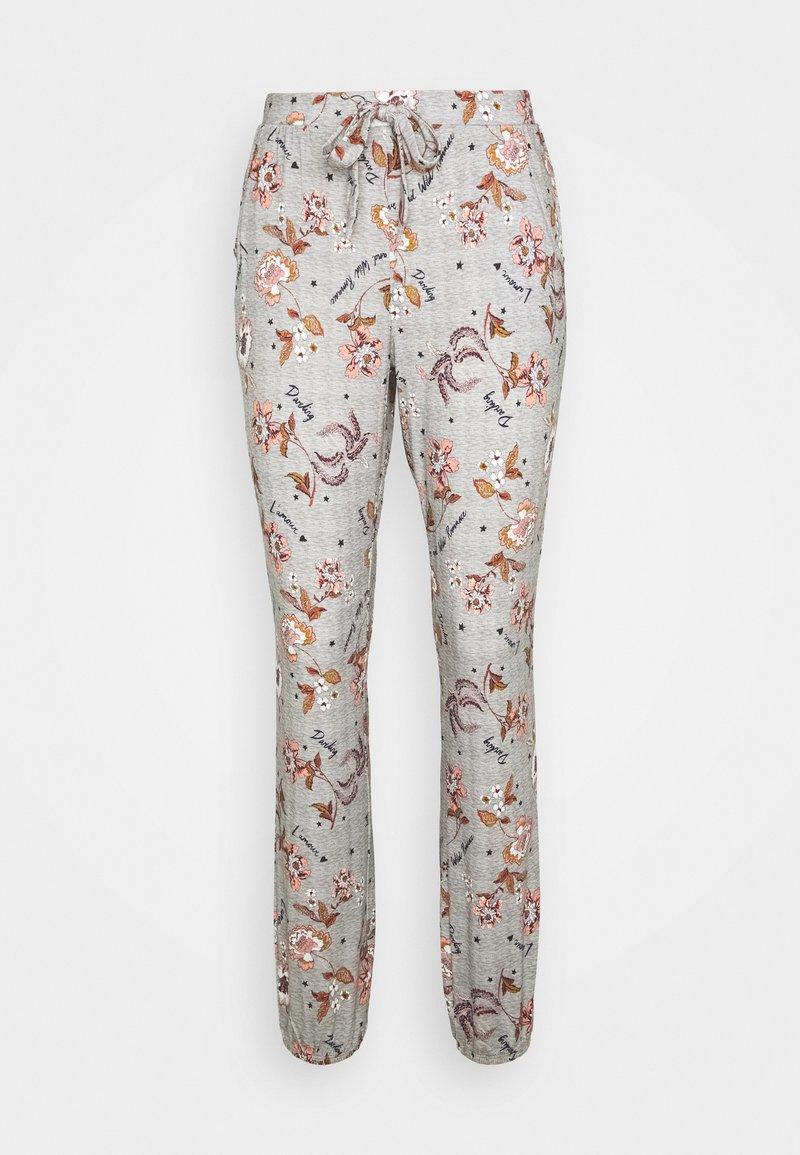 Hunkemöller - PANT MEADOW BLOOM - Pyjama bottoms - warm grey