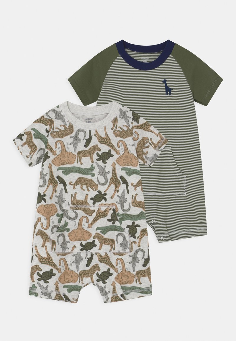 Carter's - ANIMAL 2 PACK - Overal - khaki