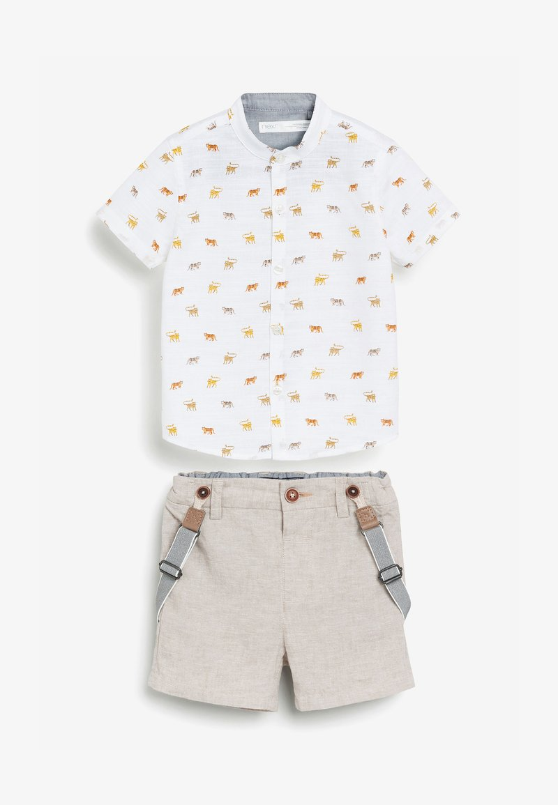 Next - SET - Shorts - beige