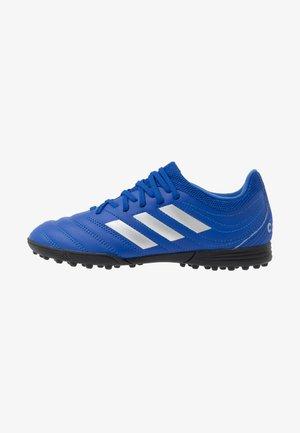 COPA 20.3 TF - Astro turf trainers - royal blue/silver metallic/core black