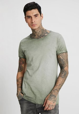 VITO SLUB - Camiseta estampada - military green