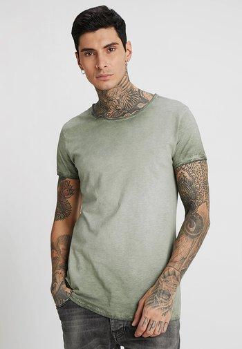 VITO SLUB - T-shirt med print - military green