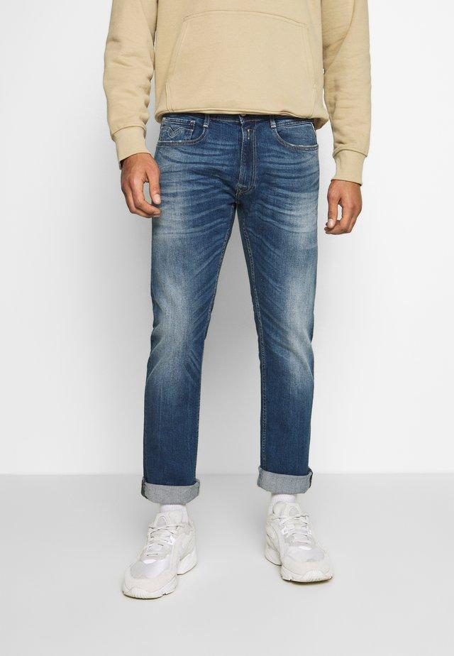 ROCCO - Straight leg -farkut - dark blue