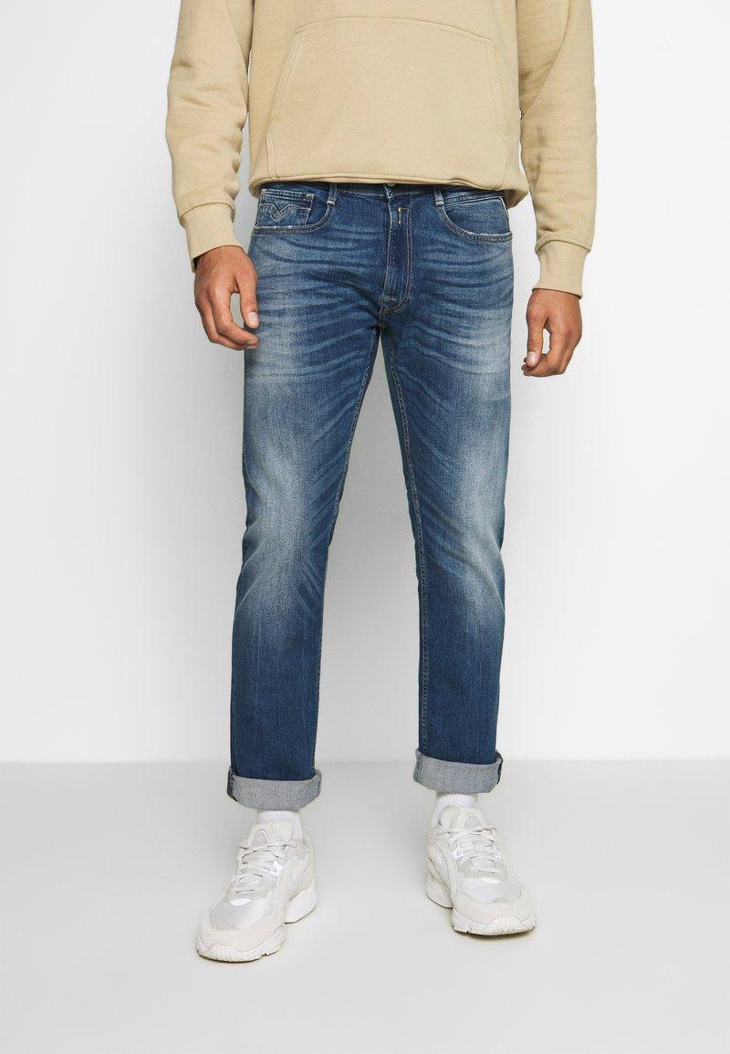 Replay - ROCCO - Straight leg jeans - dark blue