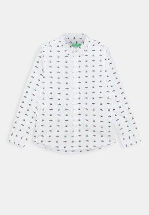 FUNZIONE BOY - Shirt - white