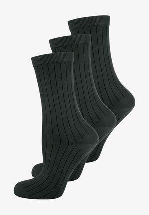 3 PACK - Strumpor - schwarz
