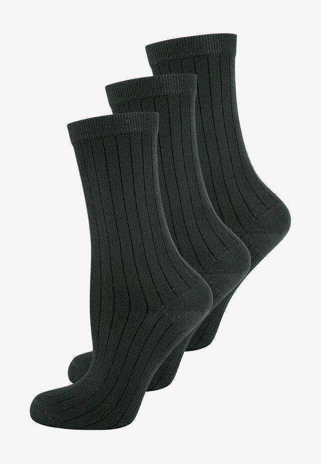 3 PACK - Sukat - schwarz