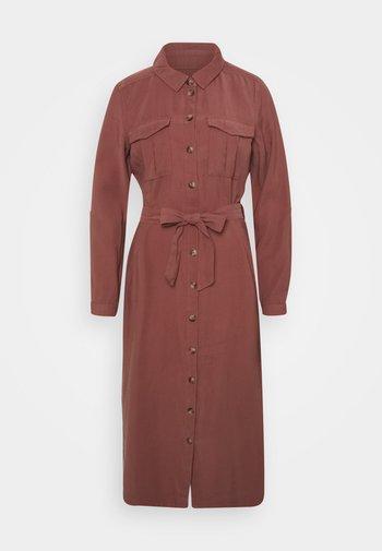 ONLNEW ARIS LIFE DRESS  - Shirt dress - apple butter