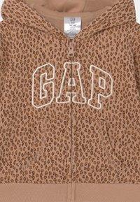 GAP - HOOD  - Zip-up sweatshirt - desert tan - 2