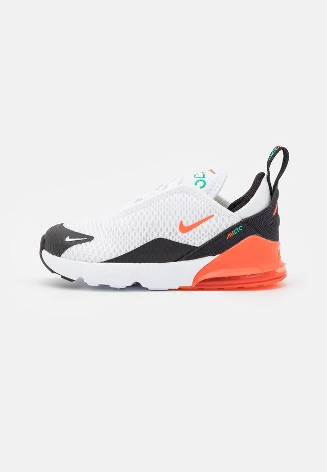AIR MAX 270 BT UNISEX - Sneaker low - white/turf orange/stadium green/black