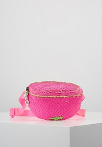 J.CREW - SEQUIN FANNY PACK - Bältesväska - neon pink - 0