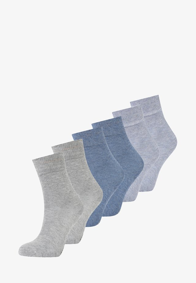 SOFT 6 PACK - Socks - jeans mix