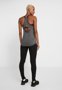 adidas Performance - ESSENTIALS SPORT INSPIRED COTTON LEGGINGS - Trikoot - black/white - 2
