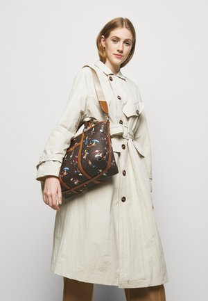 TOTE - Handbag - brown/multi
