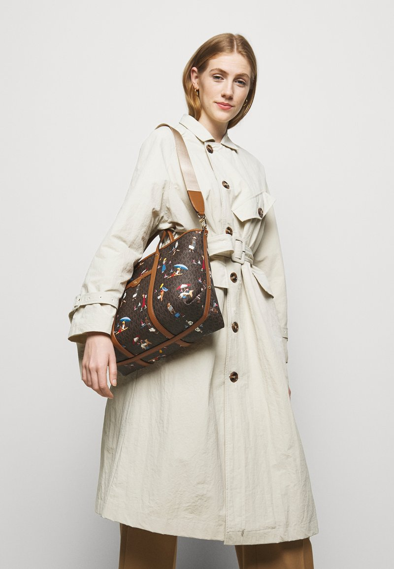 MICHAEL Michael Kors - TOTE - Handbag - brown/multi