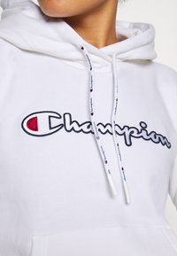 Champion - HOODED ROCHESTER - Hættetrøjer - white - 5