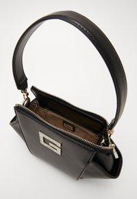 Guess - DINNER DATE MINI SHOULDER BAG - Handbag - black - 5