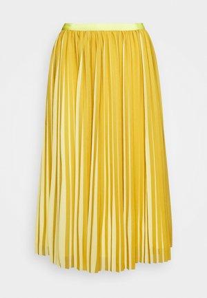 DEE SKIRT STRIPED - Áčková sukně - golden citrus