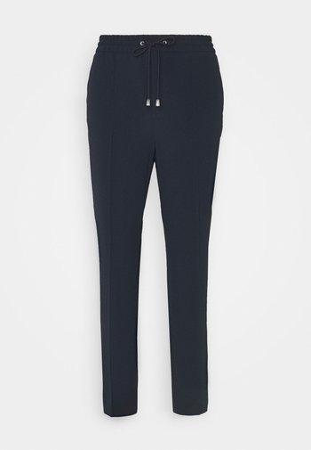 FIONA DRAPEY TROUSER - Trousers - navy