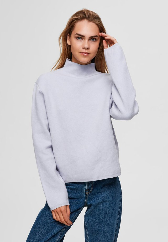 SLFCALI LS  - Strickpullover - evening haze