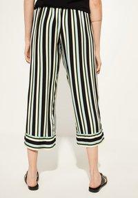 comma casual identity - Trousers - grey/black - 2