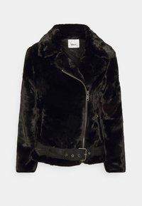 ONLY - ONLMARY BIKER - Winter jacket - black - 3