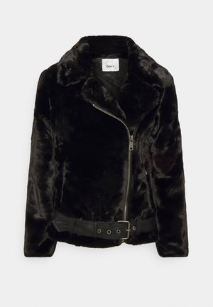 ONLMARY BIKER - Winter jacket - black