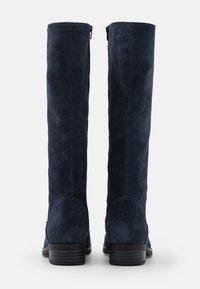 Anna Field - LEATHER - Boots - dark blue - 3