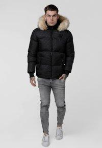 SIKSILK - DESTRUCTION JACKET - Winter jacket - black - 0