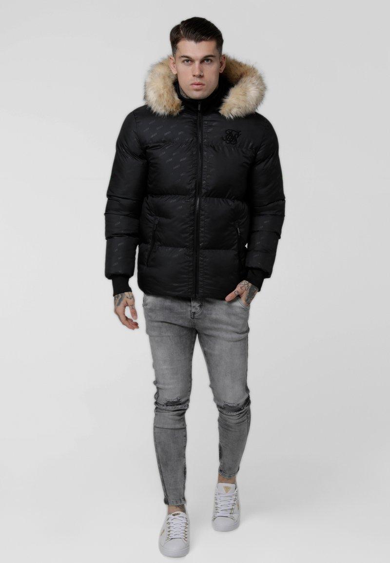 SIKSILK - DESTRUCTION JACKET - Winter jacket - black