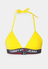 Tommy Hilfiger - TRIANGLE FIXED - Bikini top - amber glow - 4