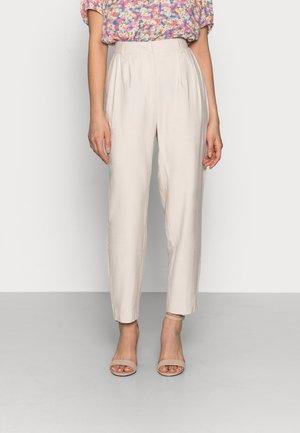 YASPERFA CROPPED PANT - Kalhoty - tapioca