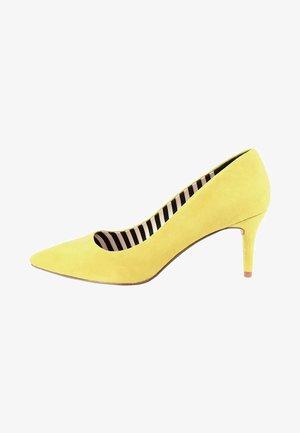 MARCI - Classic heels - yellow