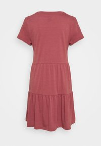 GAP - TIERED - Jersey dress - cosmetic pink - 1