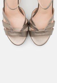 Anna Field - Sandaler med høye hæler - gunmetal - 5