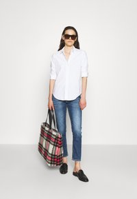 Dondup - PANTALONE MILA - Slim fit jeans - blue denim - 1