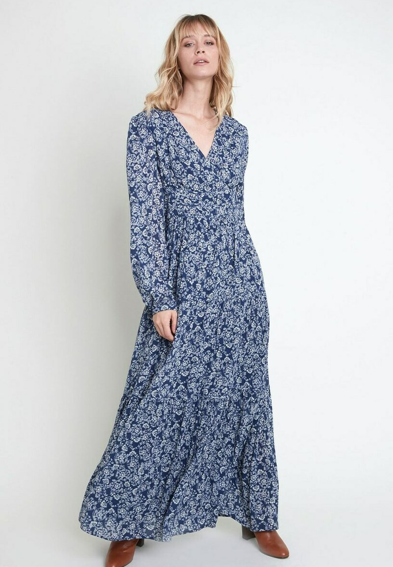 Maison 123 - Maxi dress - bleu marine