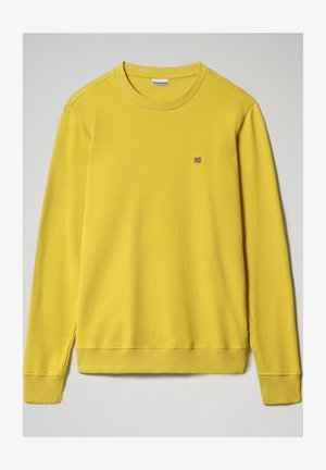 BALIS - Sweatshirt - yellow moss