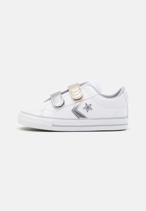 STAR PLAYER - Sneakers laag - white/gravel/metallic
