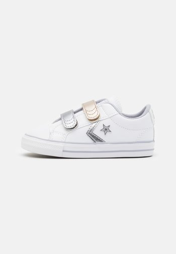 STAR PLAYER - Trainers - white/gravel/metallic